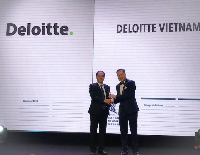 Deloitte Việt Nam giành giải HR Asia Award 2019.