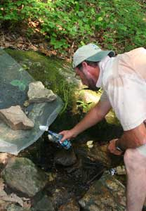 Backpacking Water Supply