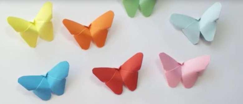 pysseltips, pyssel, pyssla, DIY, origami, fjäril, origami för barn, pyssel för barn, barnpyssel