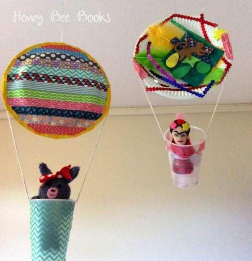 pyssel, pysseltips, pyssla, skapa, barnpyssel, pyssel för barn, papperstallrik , luftballonger
