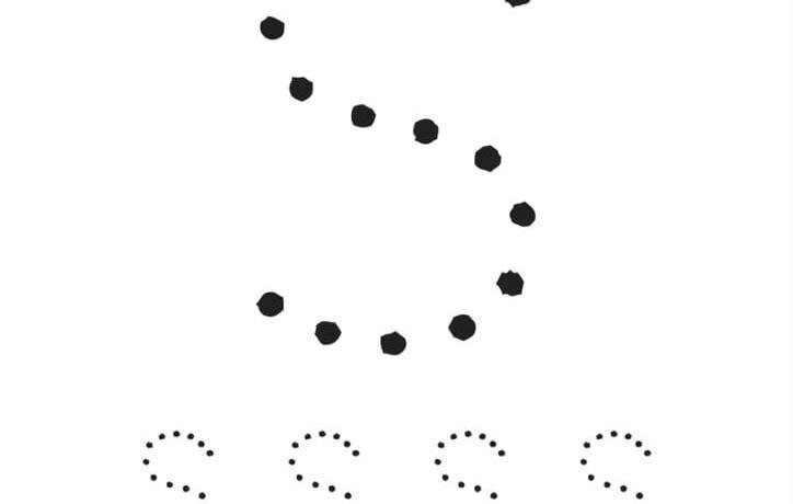 aktiviteter för barn, barnaktiviteter, pyssla och lek, knep och knåp, lära sig skriva, lära sig alfabetet, lära sig bokstaven S