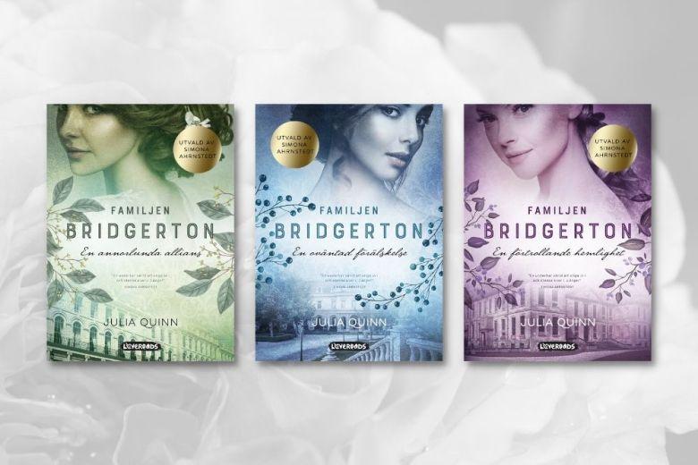 vilka är böckerna i julia quinns serie familjen bridgerton