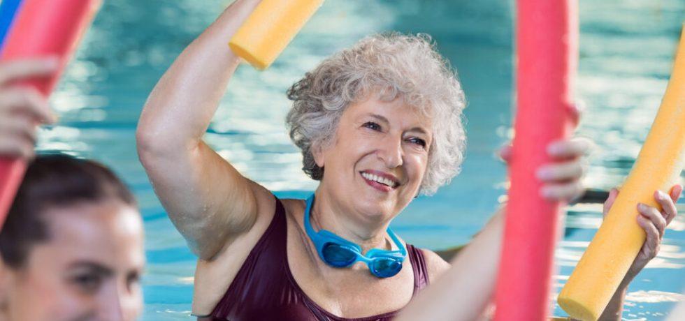 hälsoskäl att träna vattengympa