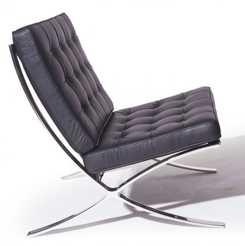 The Barcelona Chair Bauhaus On Pinterest Modern Classic And