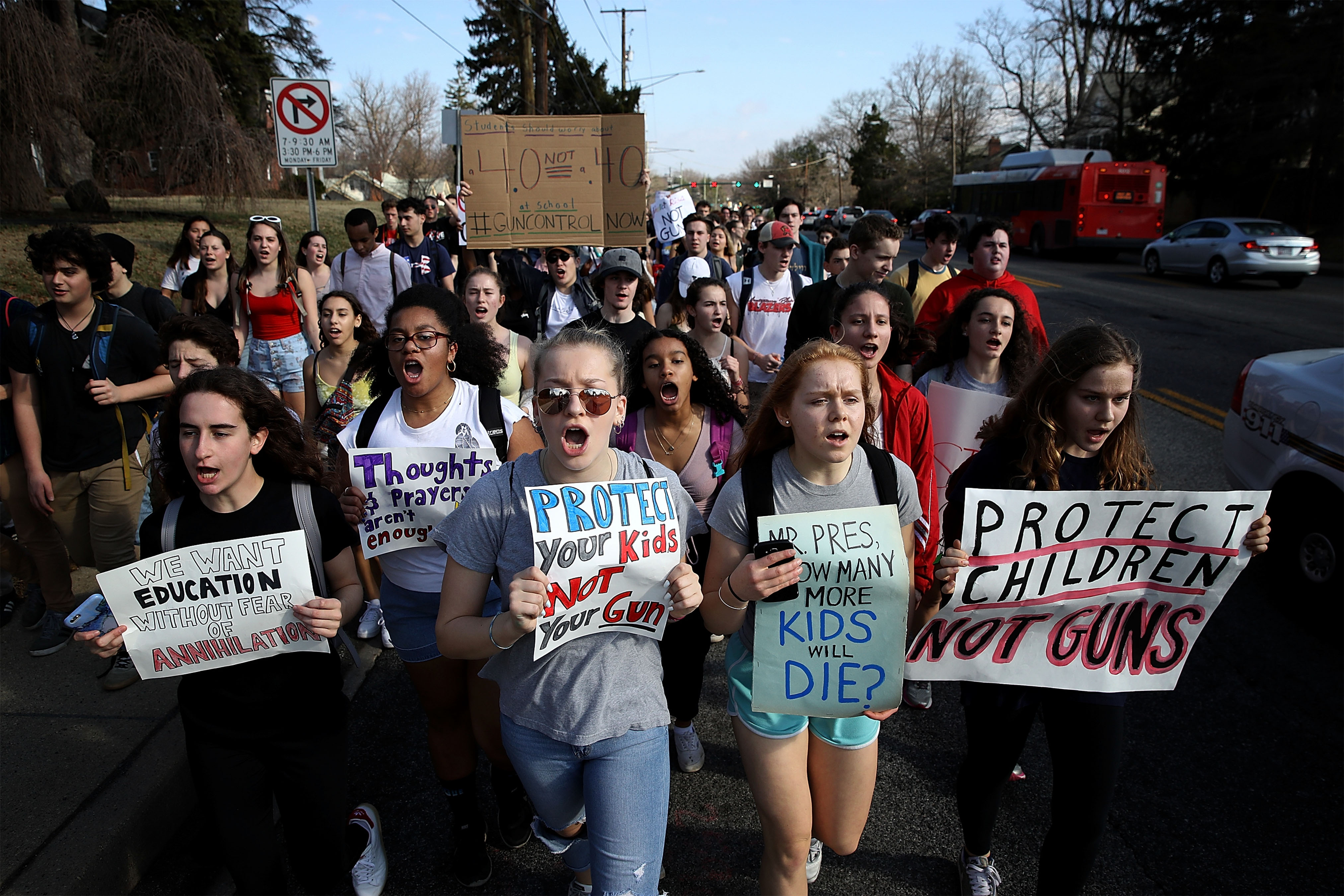 Schools Weigh Consequences For Students Protesting Gun