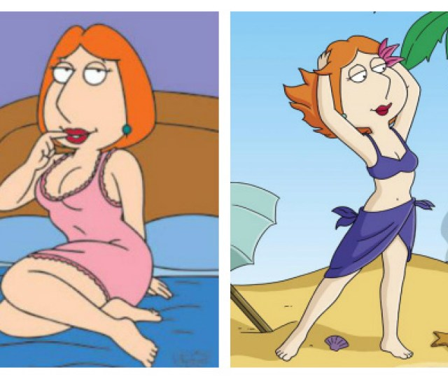 Normally Populated By Sports Illustrated Models And Actresses Like Megan Fox Which Is Why It Was Something Of A Surprise To See Lois Griffin Appearing