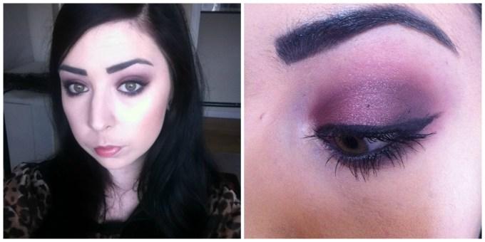 best makeup to make green eyes pop: mac, maybelline, inglot