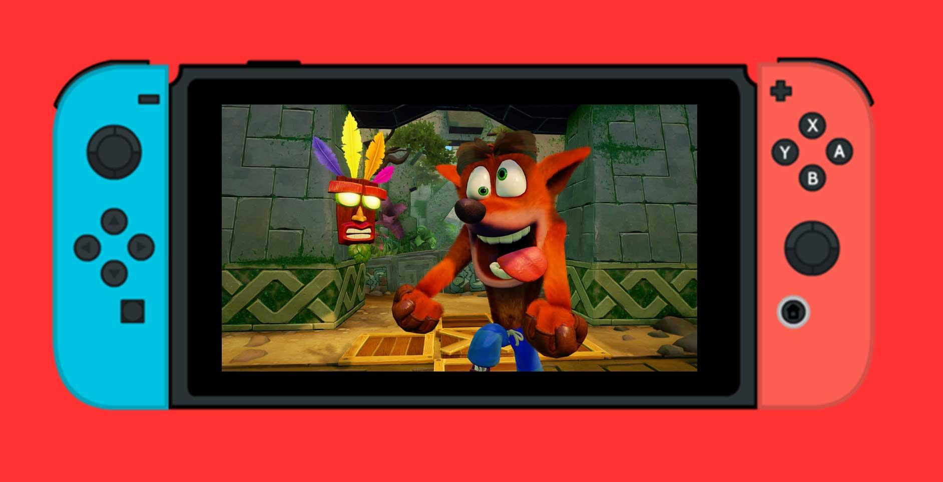 Crash Bandicoot La NSane Trilogy Bientt Sur Switch Et PC