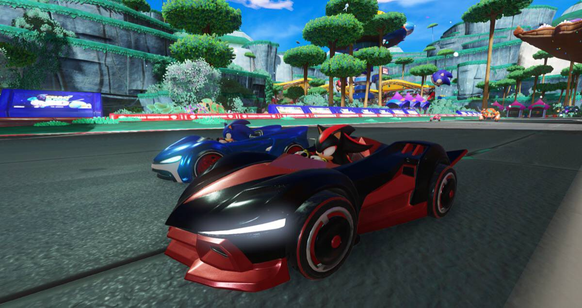 Team Sonic Racing Un Jeu De Courses Sonic En Fuite Avant