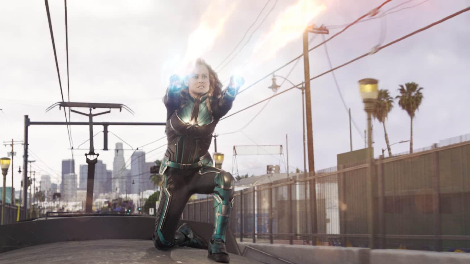 Brie Larson Dvoile Quelques Scnes Daction De Captain Marvel