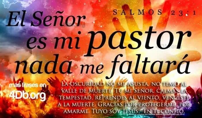 Me Mi Nada 23 Faltara Salmo El Senor Es Pastor