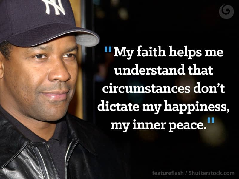 Image result for denzel washington about his faith