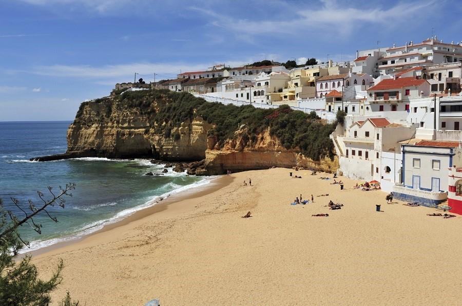 Carvoeiro Beach, Algarve, Portugal (photo: Getty)