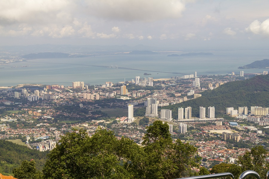 View over city in Penang, Malaysia (photo: Getty)