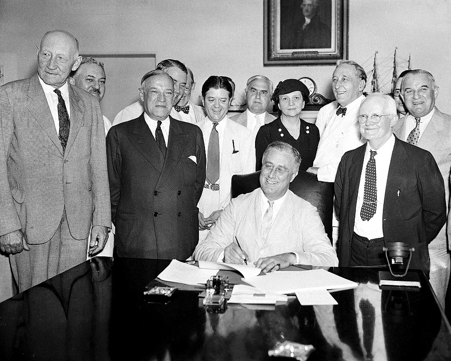 Social Security was born on August 14, 1935. Photo: AP