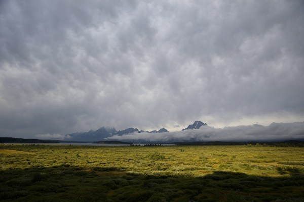 Take it from someone who grew up in Wyoming -- when residents retire, they move south, unless they live in Jackson. (Photo:AP)   5 best and worst states to grow old 012716 tetons wyomingap