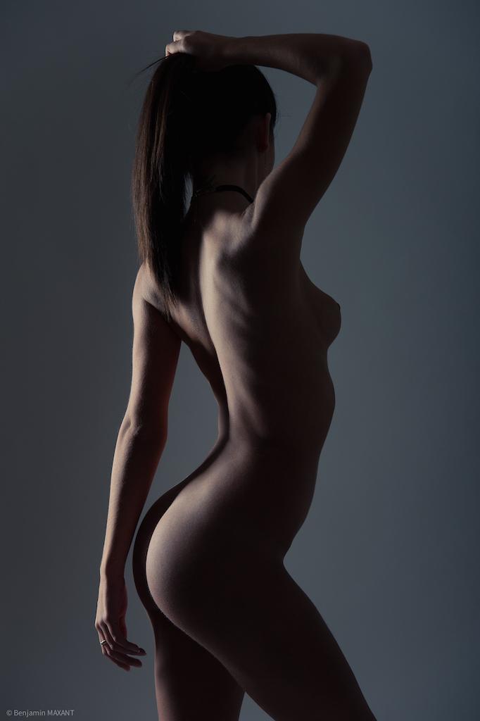 Séance photo nu en studio Ombres et délices