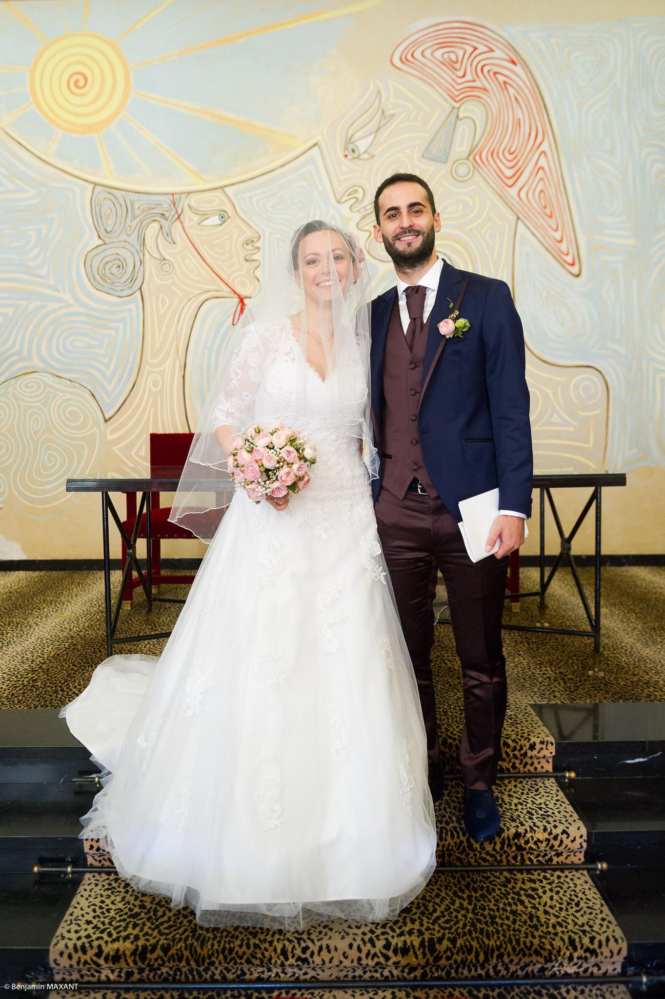 Mariage Valentine et Nicholas - sortie des mariés