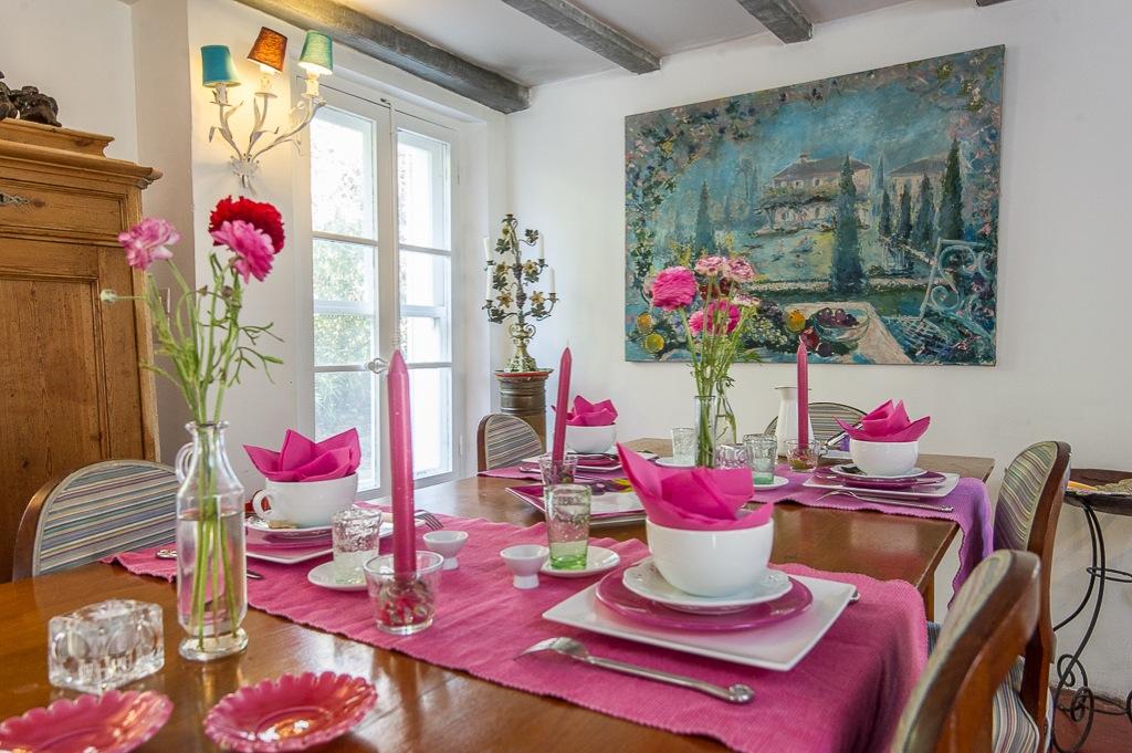 Shooting photos immobilier de villa / maison - salle à manger