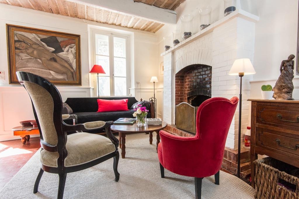 Shooting photos immobilier de villa / maison - salon