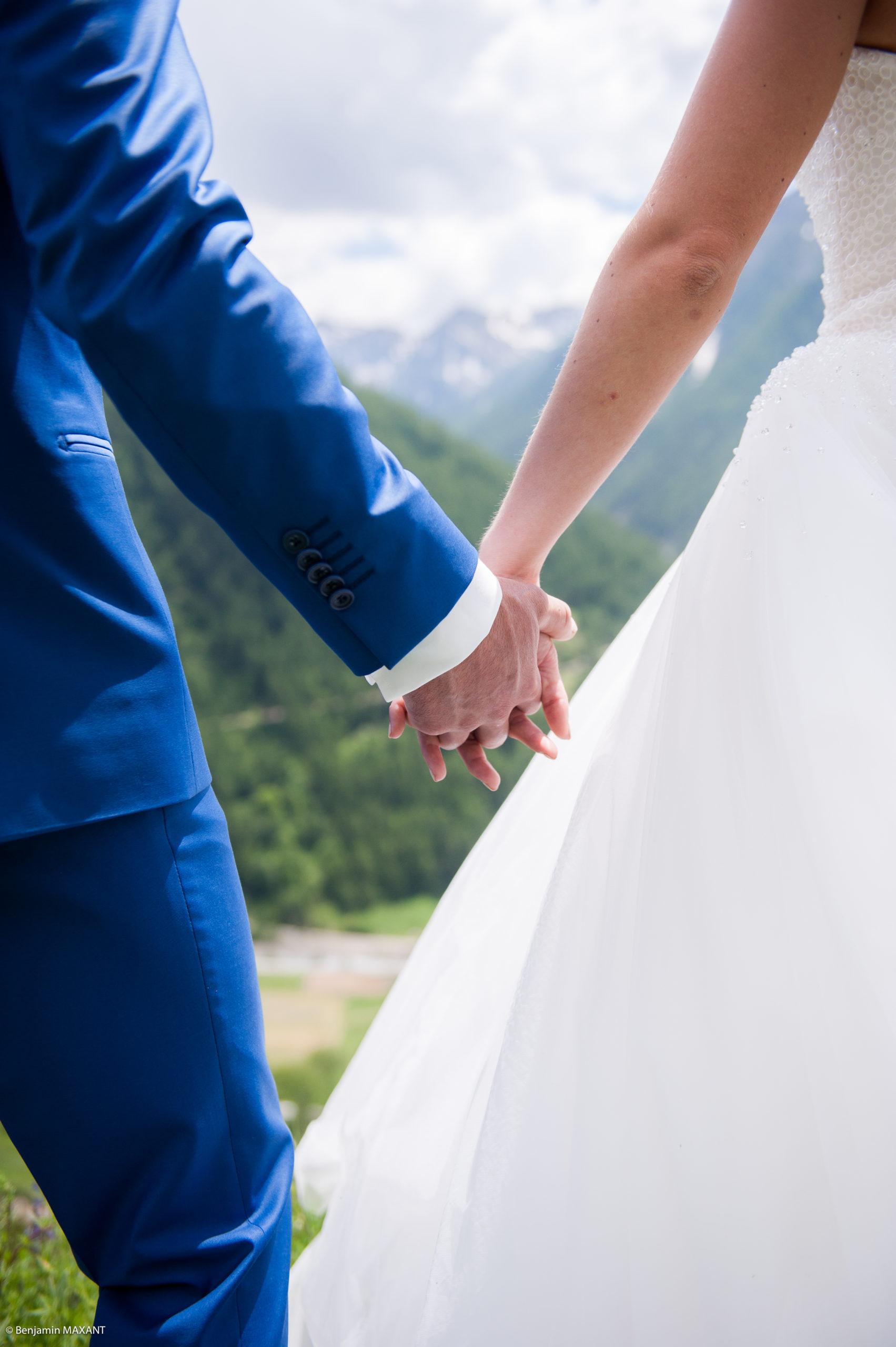 Séance photo des mariés - partie 1