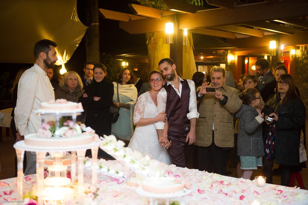 Mariage de Valentine et Nicholas - les gâteaux