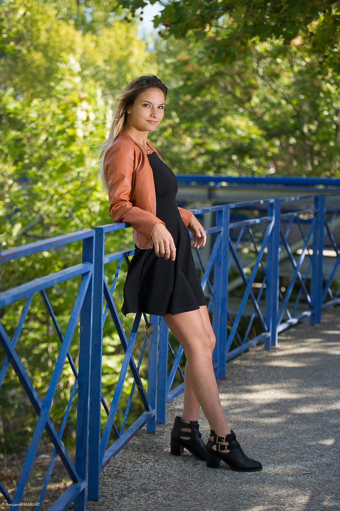 Séance photo fashion glamour à Digne les Bains