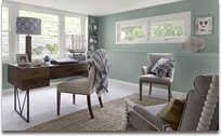 Benjamin Moore Colour Trends 2013 home office paint colours