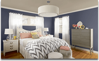 Benjamin Moore Colour Trends 2013 bedroom paint colours