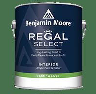 REGAL Select Interior Paint- Semi-Gloss