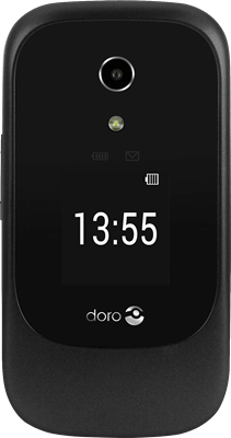 Doro 7060 (4GB Black) at £69.99 on Pay As You Go. Extras: Top-up required: £15.