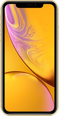 Apple iPhone XR (128GB Yellow) at £80.00 on 4G Essential 4GB (24 Month(s) contract) with UNLIMITED mins; UNLIMITED texts; 4000MB of 4G data. £49.00 a month. Extras: EE: Service Pack Benefits.
