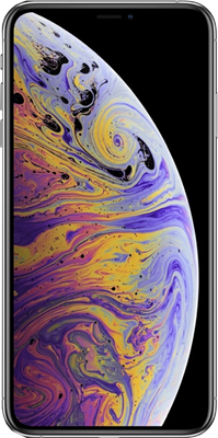 Apple iPhone XS Max (256GB Silver) at £50.00 on 4G Essential 30GB (24 Month(s) contract) with UNLIMITED mins; UNLIMITED texts; 30000MB of 4G data. £74.00 a month. Extras: EE: Service Pack Benefits.