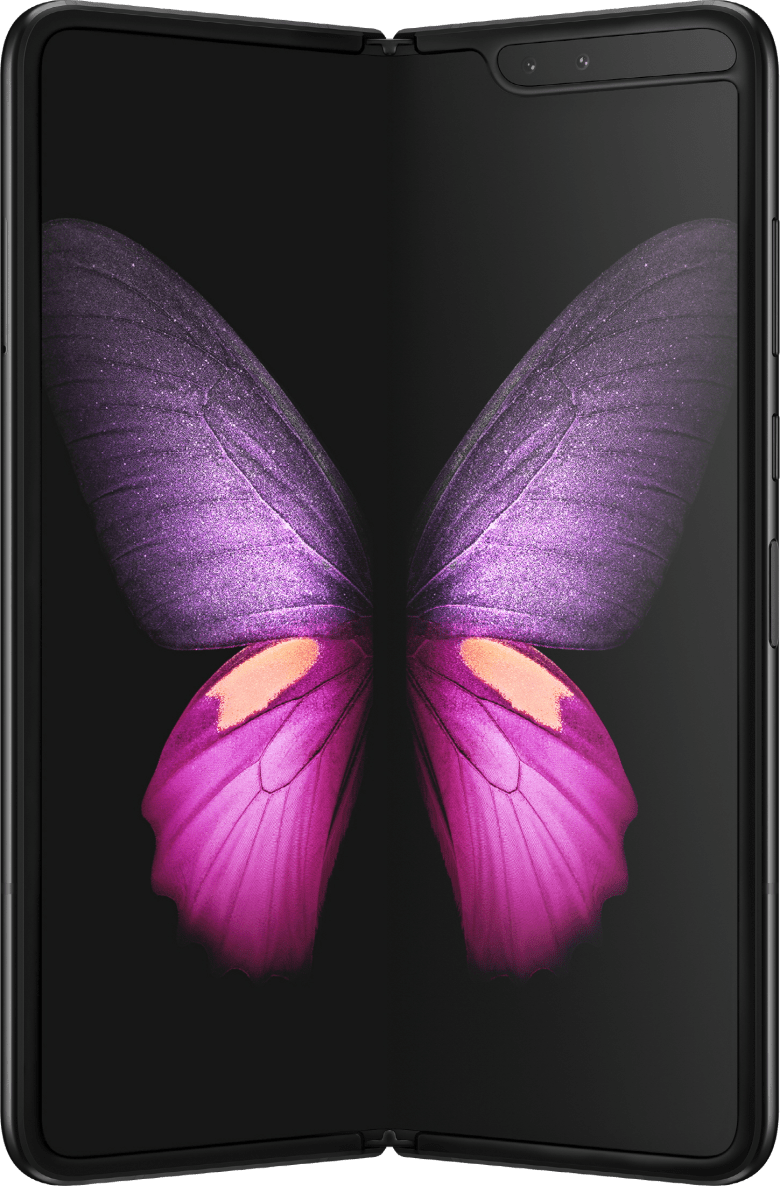 Samsung Galaxy Fold 5G (512GB Cosmos Black) at £30.00 on 5G Smart (24 Month(s) contract) with UNLIMITED mins; UNLIMITED texts; UNLIMITEDMB of 5G data. £114.00 a month. Extras: EE: 5G - 3 Smart Benefits + Swap your benefits when you fancy.