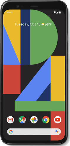 Google Pixel 4 XL (64GB Just Black) at £130.00 on 4G Essential 1GB (24 Month(s) contract) with UNLIMITED mins; UNLIMITED texts; 1000MB of 4G data. £45.00 a month. Extras: EE: Service Pack Benefits.