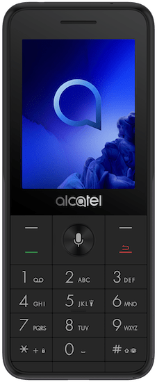 Alcatel 3088 (4GB Metallic Black) at £19.99 on Pay As You Go. Extras: Top-up required: £10.