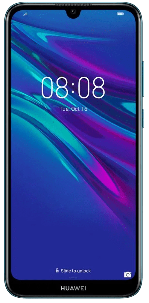 Huawei Y6 (2019) Dual SIM (32GB Blue) at £79.99 on Pay As You Go.