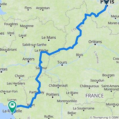 paris montpellier wow bikemap