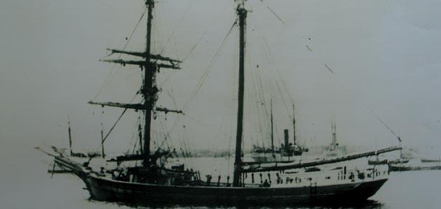 Fotografía atribuida al Mary Celeste