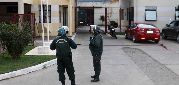 Cárcel de Angol   Marcelo Cartes/AgenciaUNO