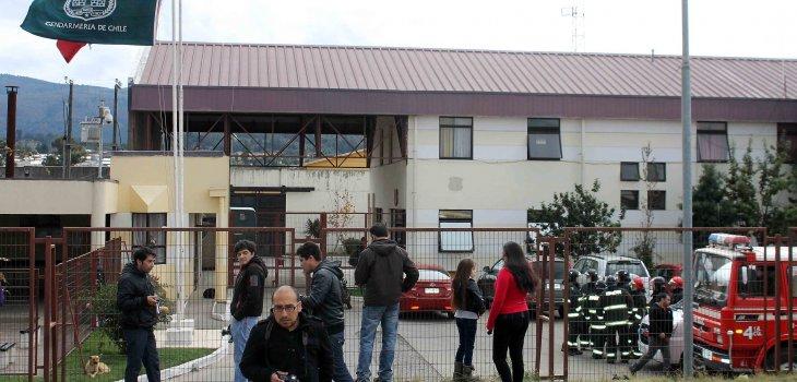 Cárcel de Angol (Marcelo Cartes   Agencia UNO)