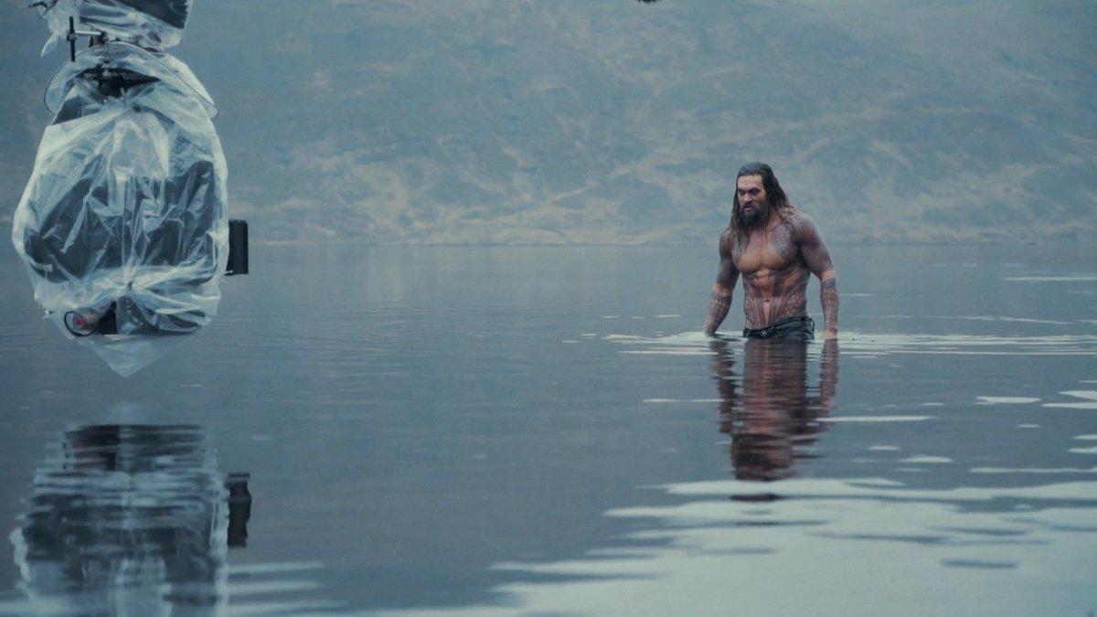 """Surgen nuevas imágenes de Jason Momoa como Aquaman en """"La Liga de la Justicia"""""""