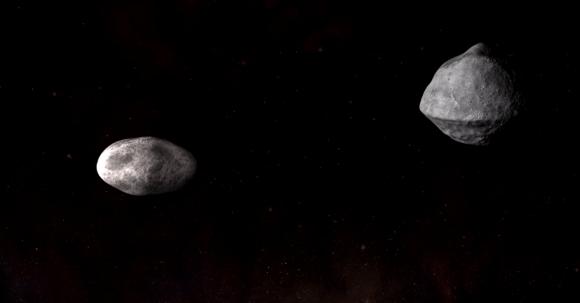 Representación de Didymos | NASA