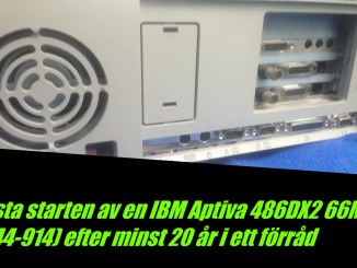 IBM Aptiva 486DX2-66MHZ 8MB540MB 2144-914 SL-H 000