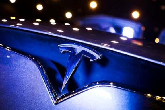 Teslas Galna uppgång 4 februari 2020  logotype från Google bildsök