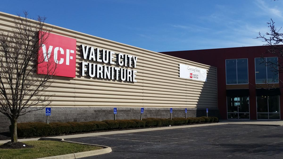Value City Furniture Takes Kittle39s Spaces At Easton And
