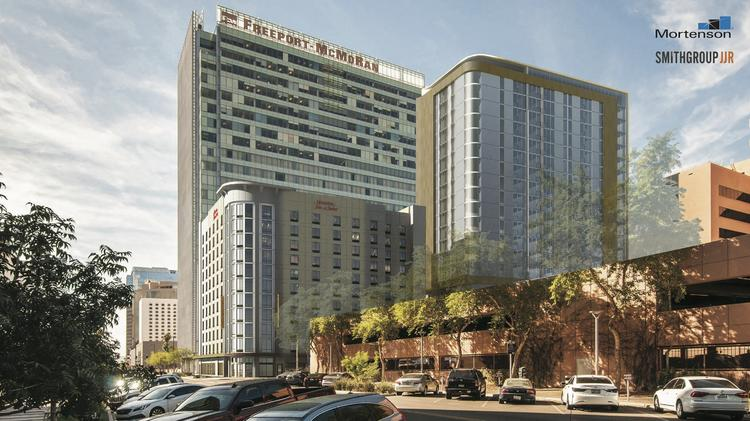 High Rise Apartments Planned To Open Next To New Downtown