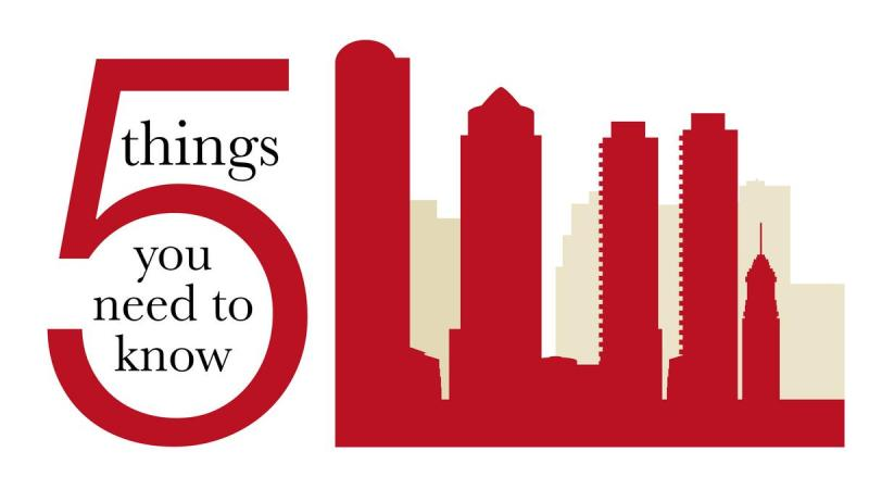 Five things you need to know today, and a Hollywood moment - Boston Business Journal