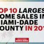 Year In Review: Biggest home sales of 2017 in Miami-Dade County