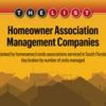 The List: South Florida's Largest Homeowners Association Management Companies of 2018